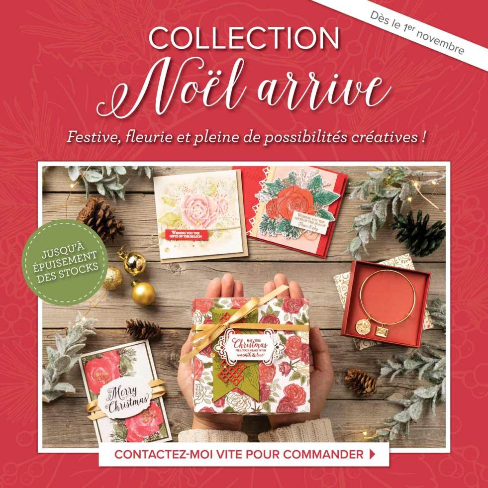 "Collection exclusive ""Noël arrive"""
